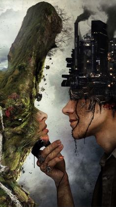 This is so beautiful - Surrealism via Double Exposure Psychedelic Art, Concours Photo, Deep Art, Environmental Art, Environmental Degradation, Environmental Aesthetics, Surreal Art, Double Exposure, Photo Manipulation