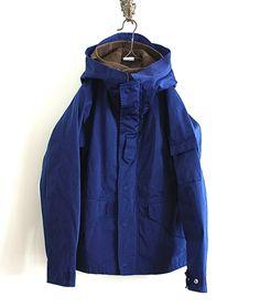 Ten c パーカブルゾン RAIN PARKA(ROYAL BLUE) http://floraison.shop-pro.jp/?pid=82939500