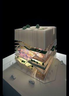 Maquete de arquitetura