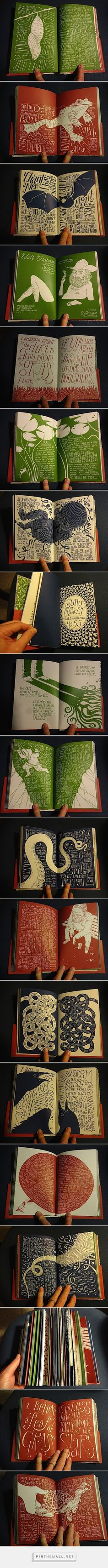 Hand Illustrated Book by Allen Crawford