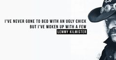 Lemmy had a way with words #lemmykilmister #lemmy #quotes