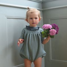 Ravelry: Little Mary's Jumpsuit pattern by Little Edith's Knit Knitting For Kids, Baby Knitting Patterns, Crochet Bebe, Knit Crochet, Jumpsuit Pattern, Heirloom Sewing, Baby Sweaters, Classic Outfits, Baby Wearing
