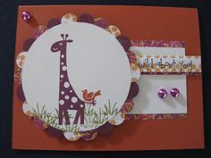 Wild about Wild About You by spinprincess96 - Cards and Paper Crafts at Splitcoaststampers