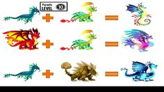 How To Breed Rare Hybrid Dragons In Dragon City Aniston