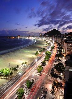 Copacabana Beach ~ Rio de Janeiro, #Brazil #travel #swisshalley