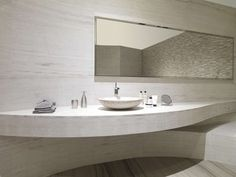 Indoor tile / wall / travertine / polished - SILVER WOOD CLASSICO BIOPROT - L'ANTIC COLONIAL by Porcelanosa