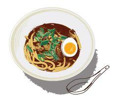 Kavel Rafferty - Waitrose Magazine food illustrations - Illustration