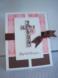 confirmation by realbunnystamper - Cards and Paper Crafts at Splitcoaststampers