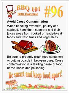 How to avoid Cross Contamination