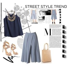 A fashion look from March 2015 featuring H&M tops, TIBI pants and TIBI. Browse and shop related looks.