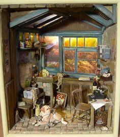 Where the writer works - Big Sur by Eifel Minis