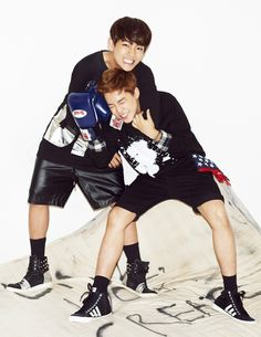 Jungkook and Jimin | Ceci Magazine October Issue '14