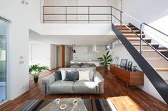 風や光を取り込んだパッシブデザインの住宅   重量木骨の家