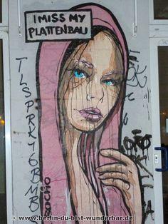 Streetart in Berlin von El Bocho