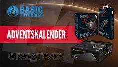 #Adventskalender: Creative Sound BlasterX G1 Soundkarte & H3 Headset #Gewinnspiel