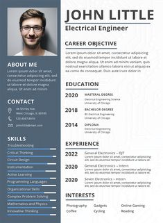 Free Electrical Engineer Fresher Resume Template If you like this cv template. Check others on my CV template board :) Thanks for sharing! Creative Cv Template, Sample Resume Templates, Resume Design Template, Resume Template Free, Free Resume, Free Professional Resume Template, Creative Resume Design, Cv Templates Free Download, Resume Cv