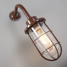 Wall Lamp Port Brown