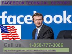 Facebook Technical Support 1-850-777-3086 : Enhance Your FB Experience Don't hesitate if you don't have a single idea regarding Facebook account because of being a new user. You can commonly enhance your Facebook experience by taking help from talented and skilled techies. Give a ring on our toll-free number 1-850-777-3086 and take Facebook Technical Support in a hassle-free manner. http://www.mailsupportnumber.com/facebook-technical-support-number.html