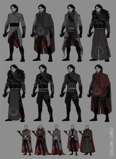 some Emperor and Knight concepts (for a project. Fantasy Character Design, Character Design Inspiration, Character Art, Star Wars Rpg, Star Wars Jedi, Poses, Star Wars Characters Pictures, Sith, Star Wars Outfits