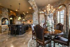 Location: 8570 Whisper Court, Littleton, CO Square Footage: 9,241 Bedrooms & Bathrooms: 5 bedrooms & 9 bathrooms Price: $2,750,000 This English Tudor style brick & stone mansion is located