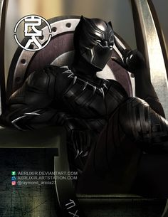 Wakanda Forever!: Black Panther  by theprimordialm on DeviantArt