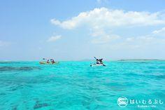 国内最大級のサンゴ礁の海を満喫できるシーカヤックツアー 海上から眺める八重山の島々の絶景や、珊瑚の綺麗なポイントでのシュノーケルをお楽しみいただけます。