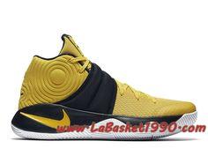 info for ee12a 62b28 Nike Kyrie 2 Australia 819583-701 Chaussures Nike Basket Pas Cher Pour Homme  Jaune Noir