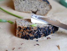 Zdrowa Kuchnia Sowy: Chleb z mąki kokosowej, bezzbożowy, bezglutenowy - dwie wersje