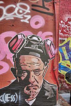 Vancouver Street Art, Breaking Bad
