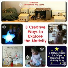 Creative Ways To Explore The Nativity With Young Children