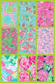 My fav Lilly patterns