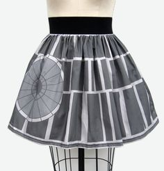 Death Star skirt; perfect for those days when I have to spend quality time with Darth Thingy.