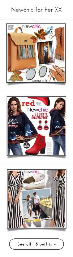 """Newchic for her XX"" by ewa-naukowicz-wojcik ❤ liked on Polyvore featuring Alice + Olivia, DKNY and Zara Home"