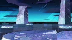 Steven Crewniverse Behind-The-Scenes Universe: A selection of Backgrounds from… Steven Universe Background, Steven Universe Wallpaper, Laptop Wallpaper, Cartoon Wallpaper, Episode Backgrounds, Rain Art, Universe Art, When It Rains, Animation Background