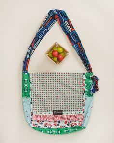 Apple Orchard Hold Em Tight Bag - Platinum by Matilda Jane Clothing