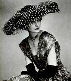 1950s Say SOMETHING Hat - http://stores.ebay.com/My-My-My-Atlanta
