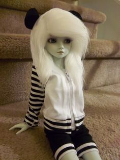 ball jointed doll, Luna