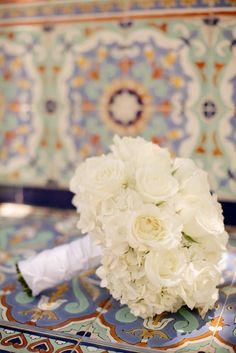 Bridal Bouquet: http://www.stylemepretty.com/florida-weddings/boca-raton-fl/2015/03/30/elegant-summer-wedding-at-the-addison/ | Phtoography: Starfish Studios - http://www.starfishstudiosfl.com/
