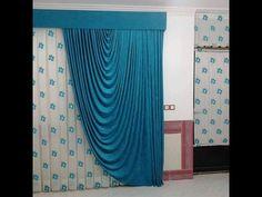 Window Swags, Window Coverings, Window Curtains, Window Treatments, Cute Curtains, Curtains And Draperies, Curtain Styles, Curtain Designs, Curtain Tutorial