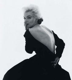 Marilyn Monroe in Dior via RDuJour