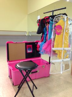 Dance Bag With Garment Rack Impressive How To Make Your Own Rolling Dance Bag With Garment Rack  Pinterest