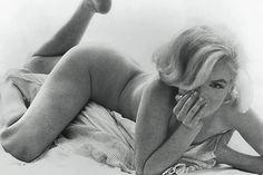 Marilyn Monroe Reclining Bed The Bert Stern