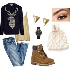"""""""zimowo"""" by victoriabeauty on Polyvore"""