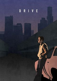 Drive poster by Oliver Shilling