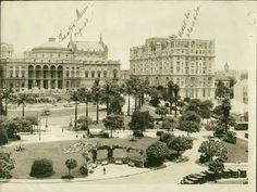 São Paulo em Preto & Branco: Theatro Municipal e Hotel Esplanada no Vale do Anh...