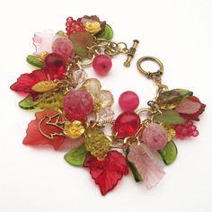 Grape+delicious+charm+nature+bounty+bracelet+by+ShambleRamble,+$55.00