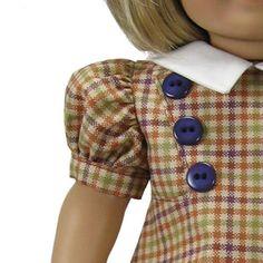 (9) Name: 'Sewing : American Girl doll Shirley Dress