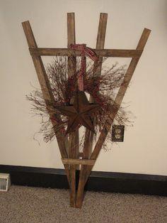 make garden trellis out of slatsl Ruler Crafts, Scrap Wood Crafts, 2x4 Crafts, Primitive Wood Crafts, Craft Stick Crafts, Crafts To Do, Bead Crafts, Fall Crafts, Christmas Crafts