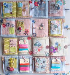 sewing cases from the vintage drawer collection from vicky trainor £25.00 with a decorative keepsake box