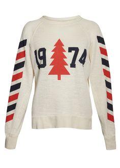 Wildfox Breckenridge 1974 Nantucket Jersey - White - T-Shirts & Jerseys - Tops Ski Sweater, Jumper, Ski Bunnies, Classic Wardrobe, Vintage Ski, Slogan Tee, White T, Wildfox, Autumn Winter Fashion
